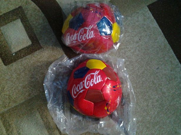 Vand minge fotbal coca cola