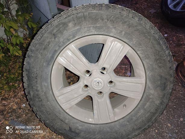 Продам диски +шины на ТЛК