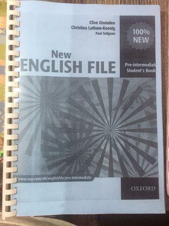 New English file. Pre-intermediate students book
