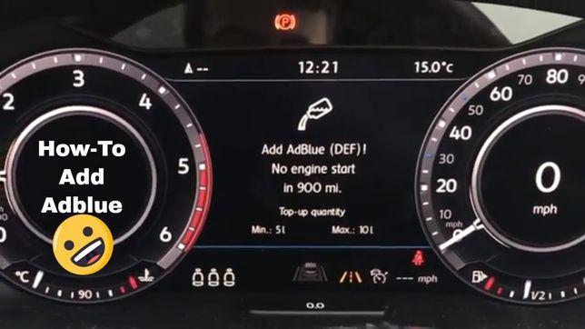 Anulare resoftare AdBlue SCR OFF
