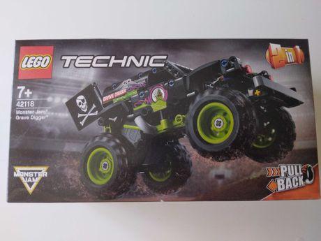 LEGO Technic 42118 camioane gigant 2in1, Monster Jam Grave Digger, nou