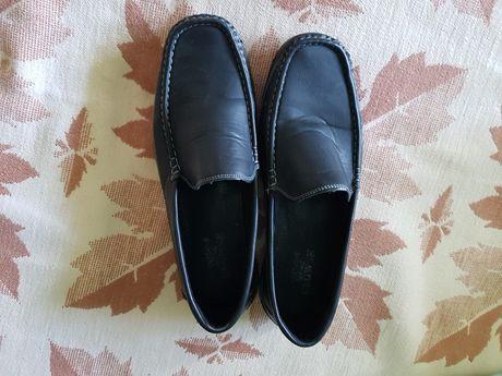 Pantofi piele Clowse negri nr 41 gen OTTER
