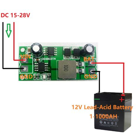 Modul control incarcare baterie auto, redresor