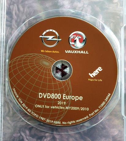 Harta navigatie GPS OPEL DVD 800 INSIGNIA ASTRA J MERIVA Romania 2021