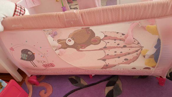 бебешка кошара на две нива Hauck Baby Center
