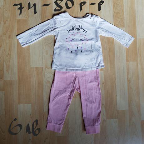 Бебешки комплекти,клинчета и блузки 74-80 р