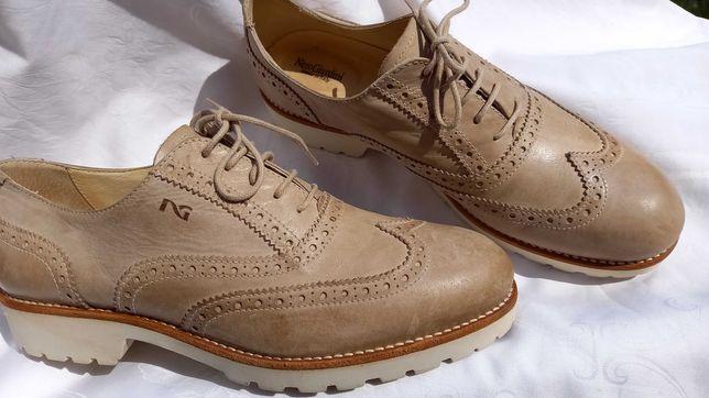 Pantofi/papuci piele naturala Giardini nr.39 stare de nou