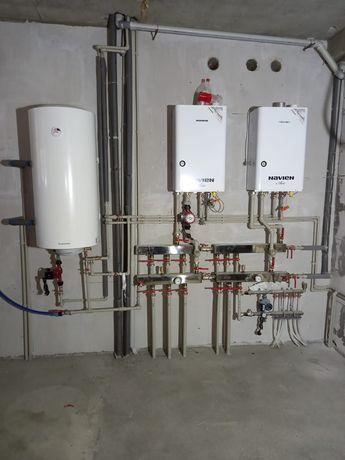 Отопление/Тёплый пол/Установка радиаторов/Установка газовых котлов