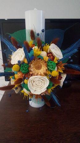 Lumanari botez/nunta,buchete,aranjamente florale !
