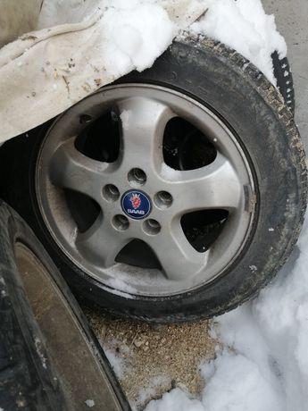 Джанти 5х110 16ки с зимни гуми стават