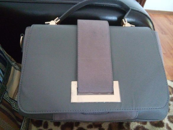 Сива чанта Н&М