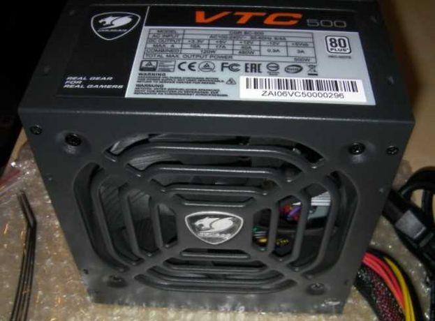 Блок питания ATX 500W Cougar VTC500