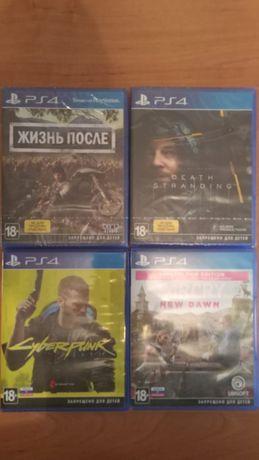 Игры для PS4: cyberpunk 2077, death stranding, far cry, жизнь после