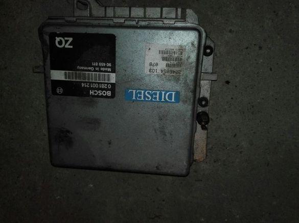 Компютър двигател опел омега 2.5 тд 97 г