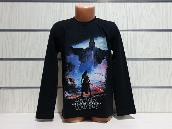 Нова детска блуза с дълъг ръкав STAR WARS, Междузвездни войни