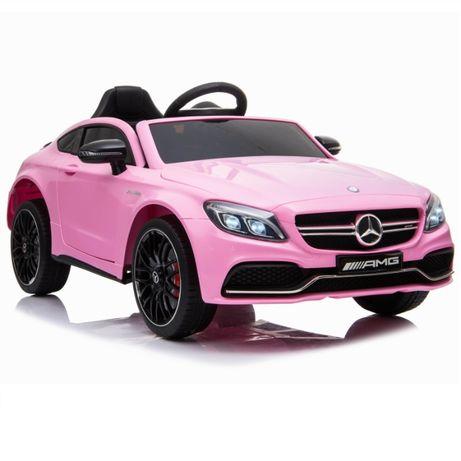 Masinuta electrica KINDERAUTO Mercedes C63 12V STANDARD #Roz