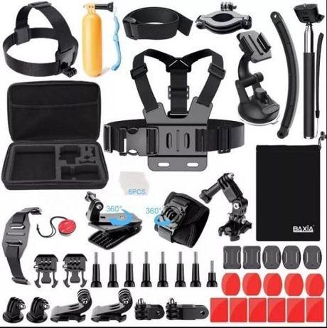 Промопакет 18 аксесоара за екшън камери gopro и аналози