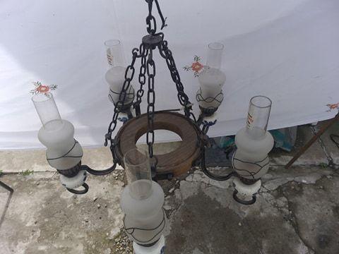 candelabru cu cinci brate