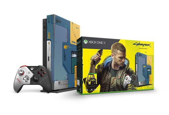 Consola de colectie Xbox One X 1TB Cyberpunk 2077