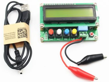 Aparat de masura pentru verificat capacitati si inductante - LC100-A