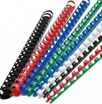 Inele din plastic indosariere 10 14 22 mm Spirale Binding combs 100buc