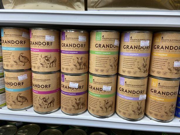 Влажный корм для собак Грандорф Grandorf