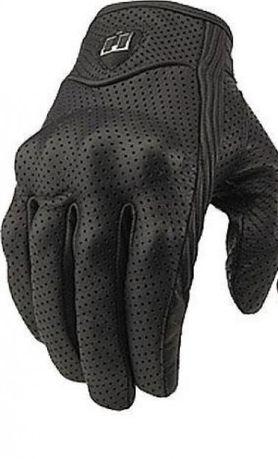 Кожени мото ръкавици тъчскрийн
