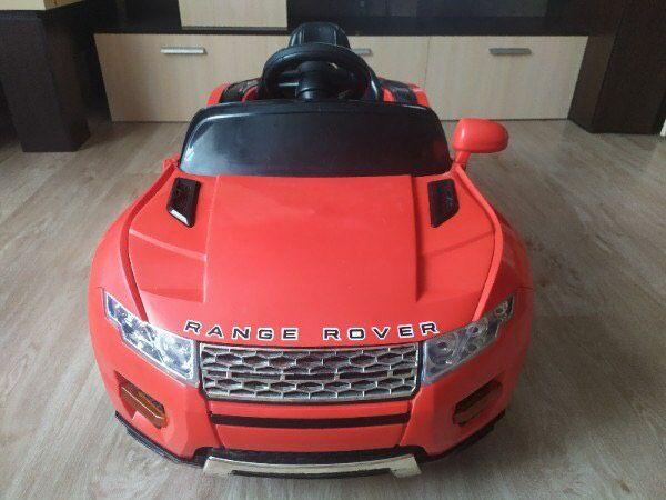 Range Rover на дистанционном управлений.