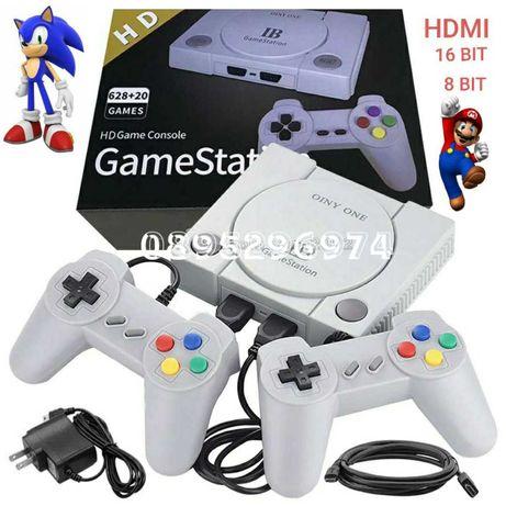 РЕТРО ИГРА + HDMI Retro Game Console 628 + 20 Game Station 16 + 8 bit