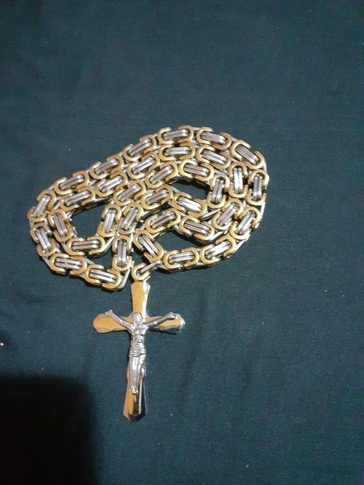 Lanț Bărbătesc cu Cruciulița nou Ilfov - imagine 1