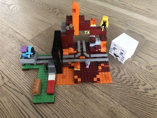 Lego minecraft портал в подземелье