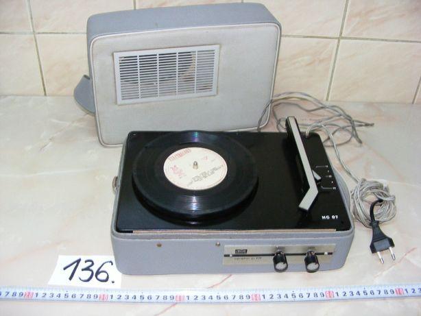 """Pikup ,,Supraphon HC07"""", anii 1970 (cod 136)"""