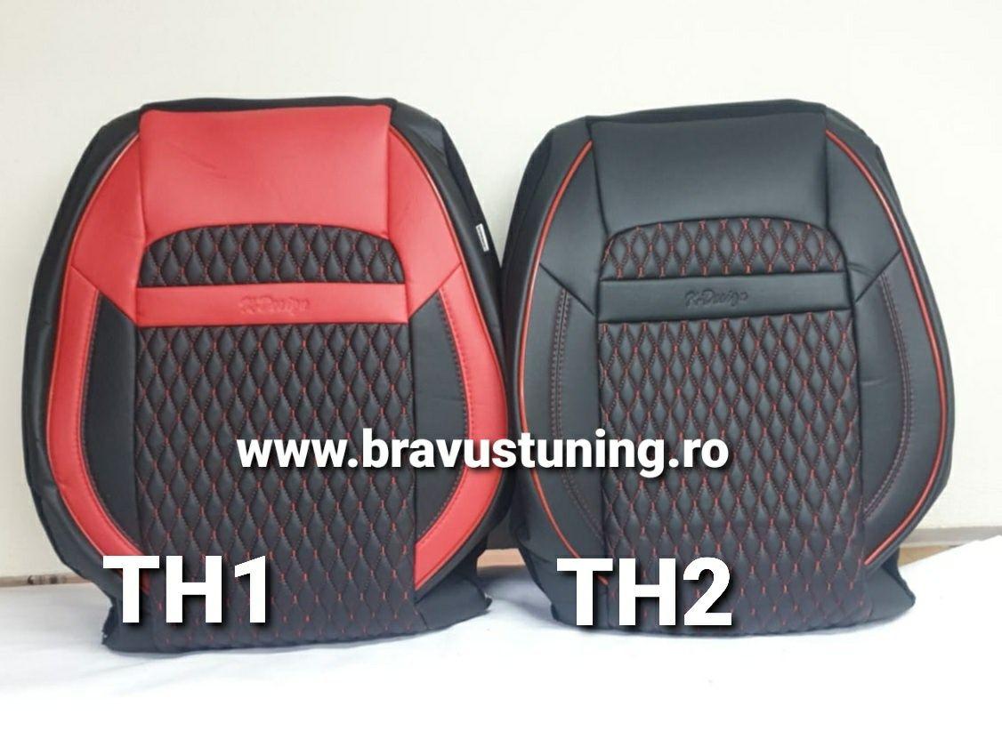 Huse scaun auto Piele Ecologica Vw, Golf,Passat,Opel,Audi,BMW, Ford et