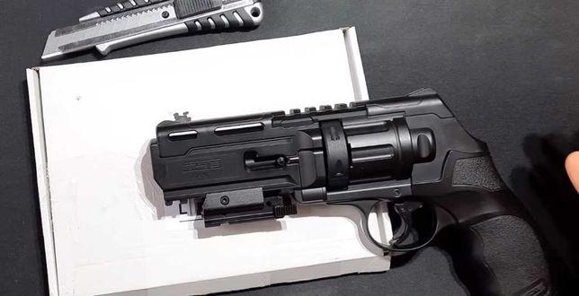 Pistol Airsoft UMAREX=>Bile Cauciuc=>16jouli/Co2/cal.50
