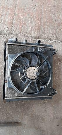 Electroventilator cu radiator racire apa Renault Kangoo 1.9D din 2000