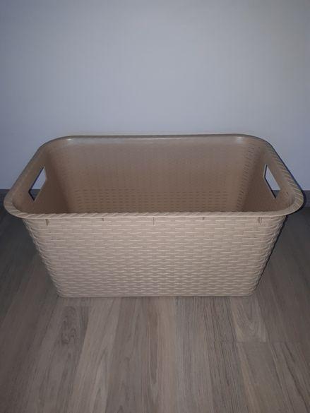 Голяма кошница за пране-ратан