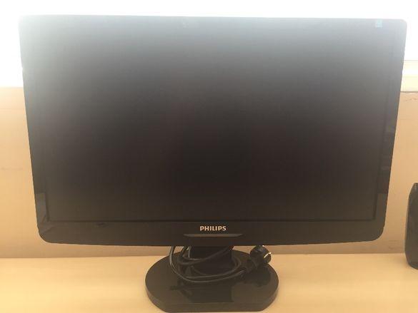 Монитор Philips черен