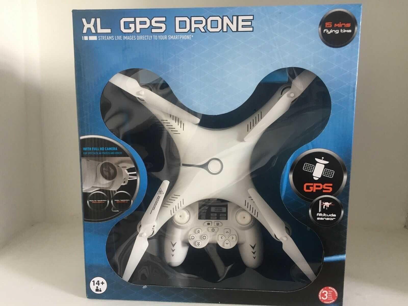 Drona XL GPS cu cameră full HD