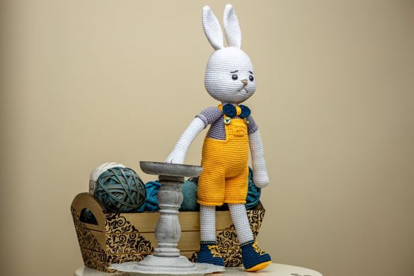 Плетени играчки на една кука-Зайче и Мишле