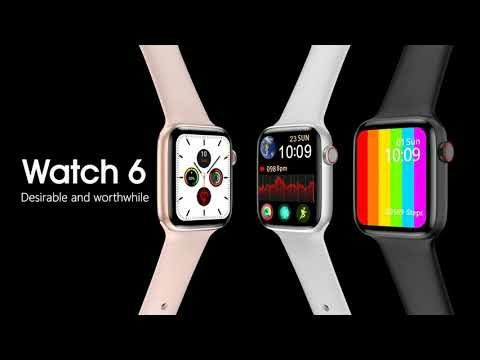 Скидка!Apple watch 6 lux copy. Smart watch 6. W26. Доставка РК.
