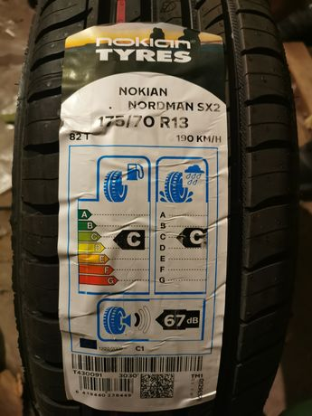 Шины Nokian Norman SX2 кол-во 2шт