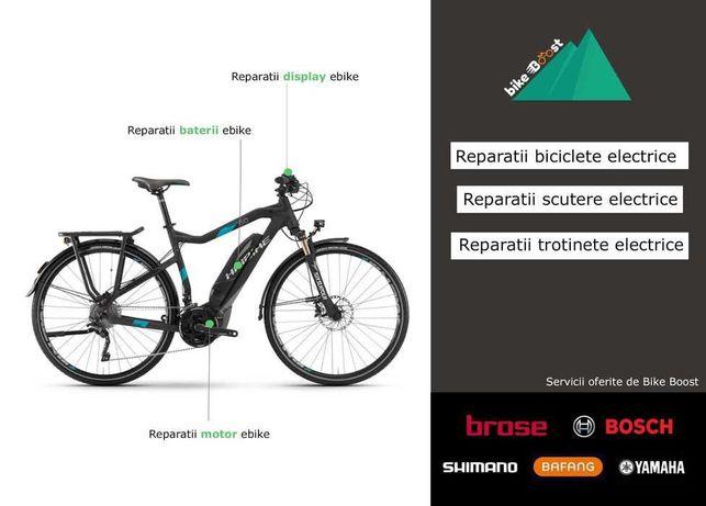 Reparatii biciclete electrice - Brose, Bosch, Shimano, Yamaha, Bafang