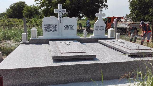 Cavouri funerare granit, marmura si mozaic