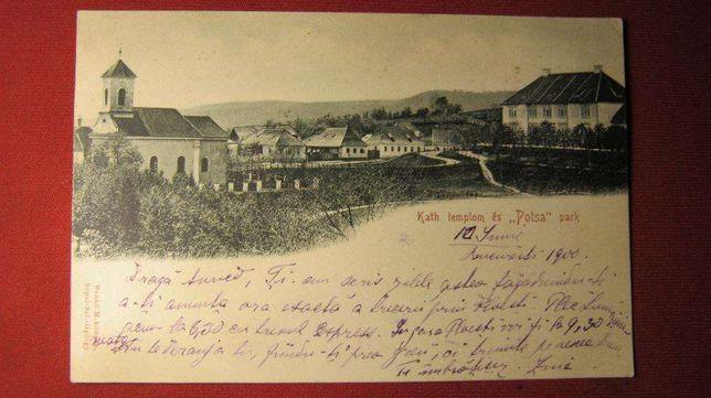 Ilustrata veche,Sfantu-Gheorghe,1900,Szepsi Szent Gyorgy