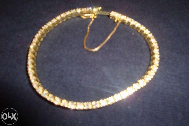 Bratara din aur 14k cu 52 de diamante 2.6 karate