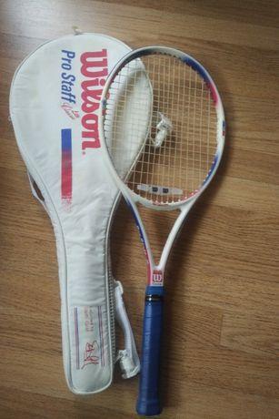 Racheta tenis Wilson Pro Staff - Graphite (Carbon)