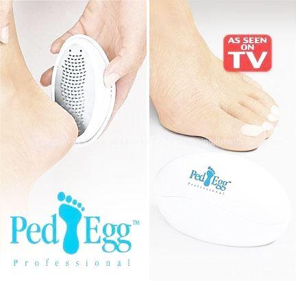 Pila perie calcaie Ped Egg indeparteaza pielea moarta aspra si crapata