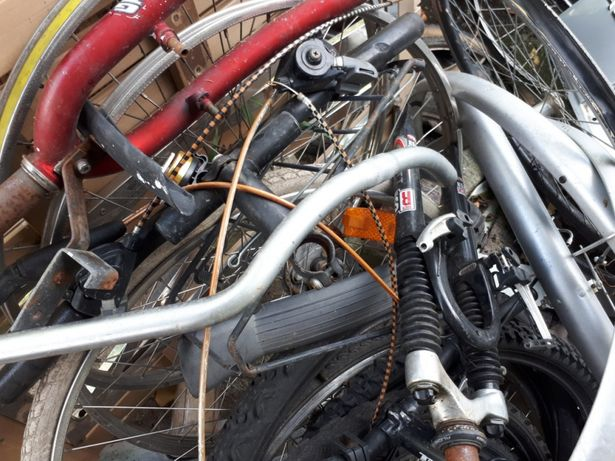 Piese biciclete.