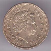 Medalie Great Britain Silver 25th Anniversary of Decimal £1s, Menai Br