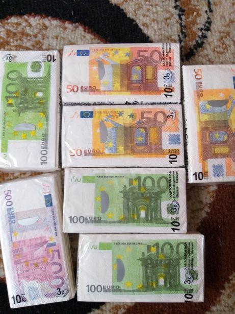 Șervețele euro noi
